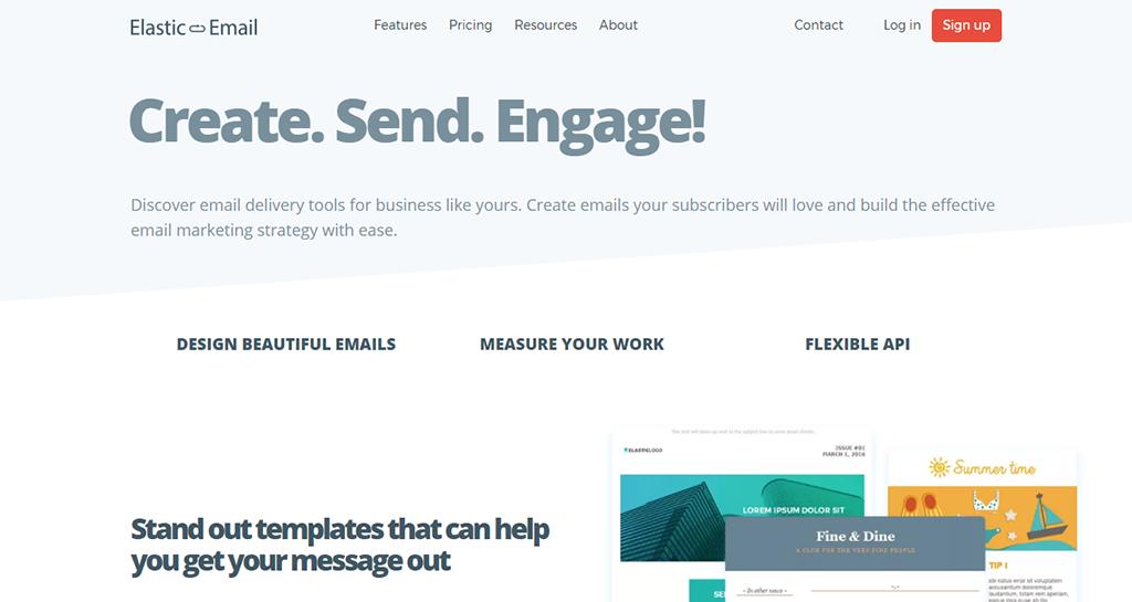 Elastic Email : Email-маркетинг для Бизнеса