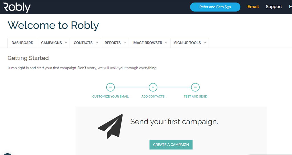 Robly : Email Marketing, Get 50% More Opens