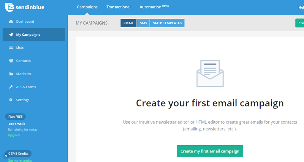 SendinBlue : Email Marketing & Automation Software