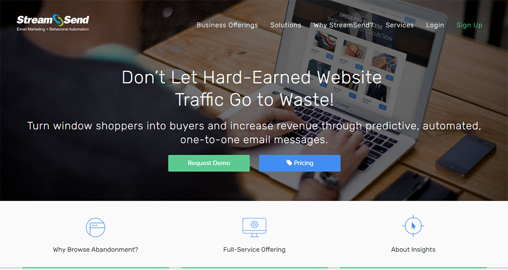 StreamSend - Email Marketing, Newsletters, Behavioral Automation