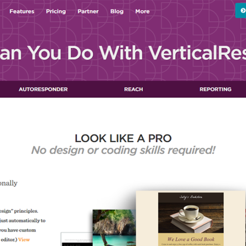 VerticalResponse : Email Marketing, Just Like That